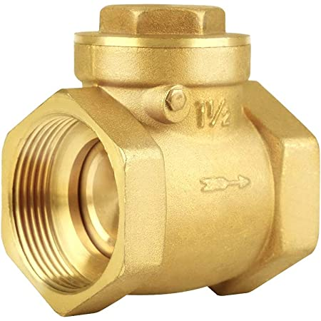 """Details about  /AW SP25 Brass Spring Loaded Non Return One Way Check Valve 25mm 1/"""" Reg Post"""