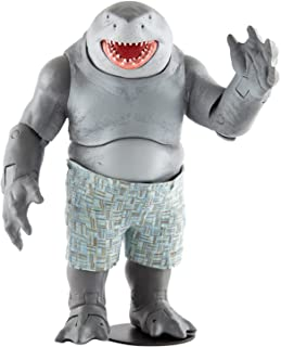 McFarlane Toys 15088-9 DC Suicide Squad Movie-Megafig-King Shark (Gold Label), Multicolour