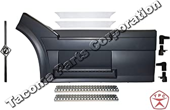 Volvo VNL 2004-2015 Front Step Fairing Panel LH (Driver) Side with fairing handle, steps, stainless steel trim (upper step RH and LH) and FREE Volvo Logo and stripe