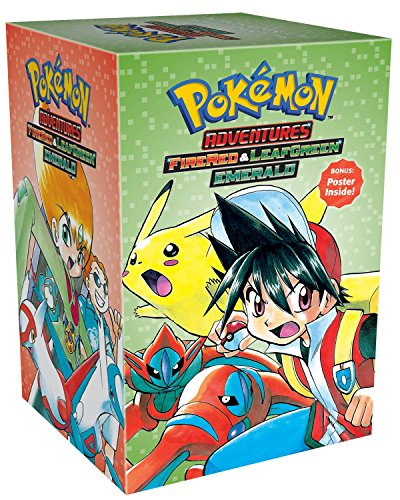 Pokémon Adventures FireRed & LeafGreen / Emerald Box Set: Includes Vols. 23-29 (Pokémon Manga Box Sets)