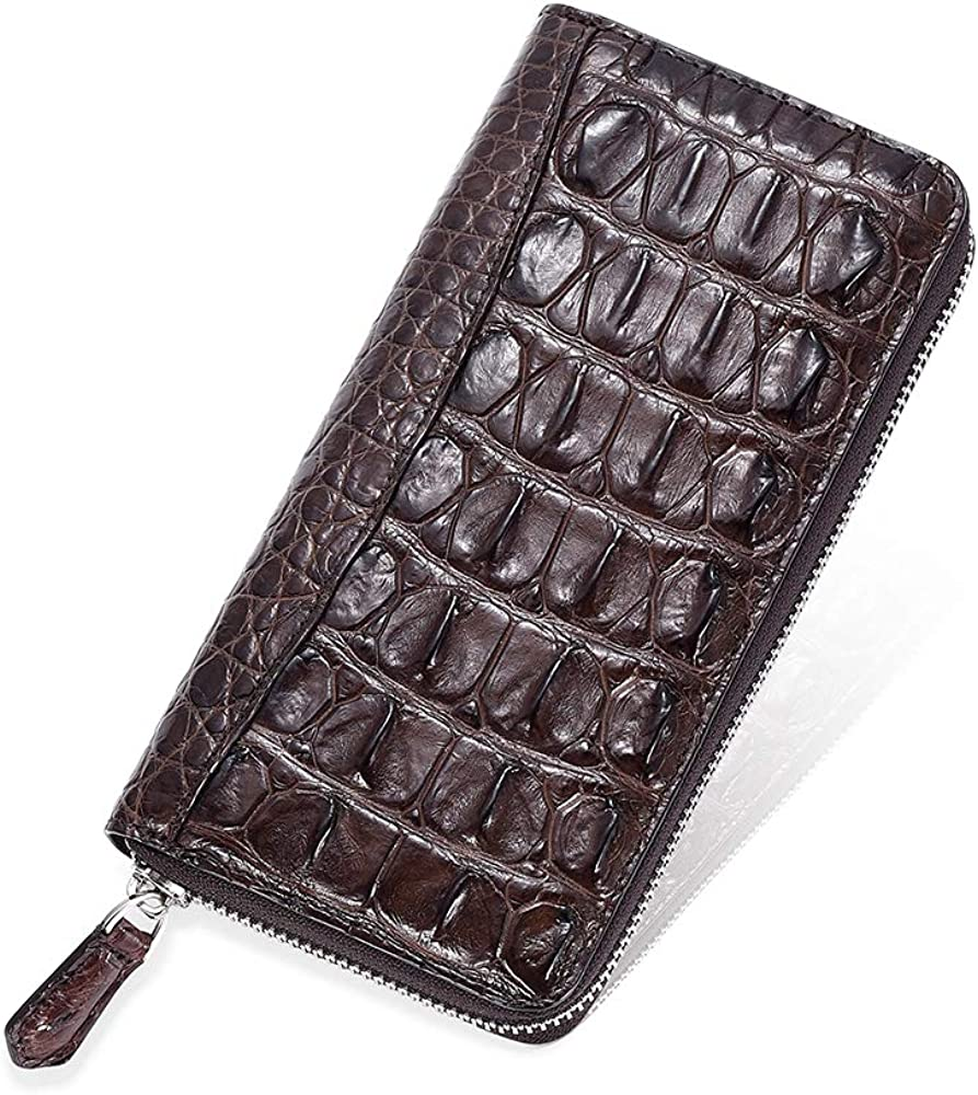 Vintage Wallet latest for Max 65% OFF Men Crocodile Men's Genuine Leather Lo