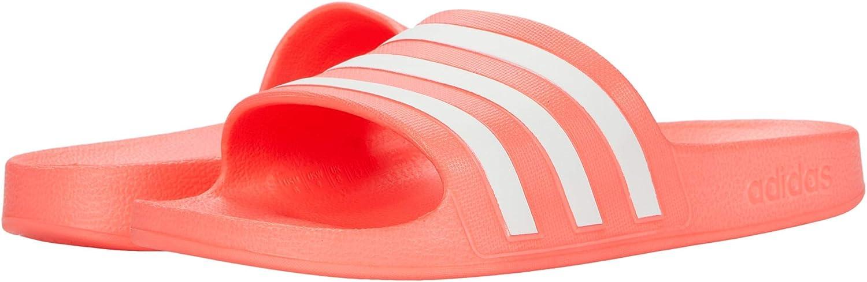 adidas 推奨 Women's Adilette Slide ふるさと割 Sandal Aqua