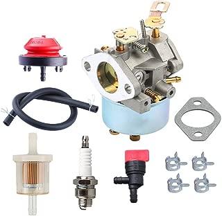 HIPA 632334A Carburetor Primer Bulb for Tecumseh 632334 632111 HM80 HM70 HMSK80 HMSK90 John Deere AM108405 Toro 824 824XL 828 Snow Blower Thrower
