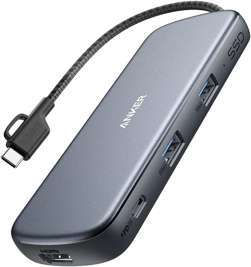 Anker PowerExpand 4-in-1 USB-C SSD ハブ (256GB)