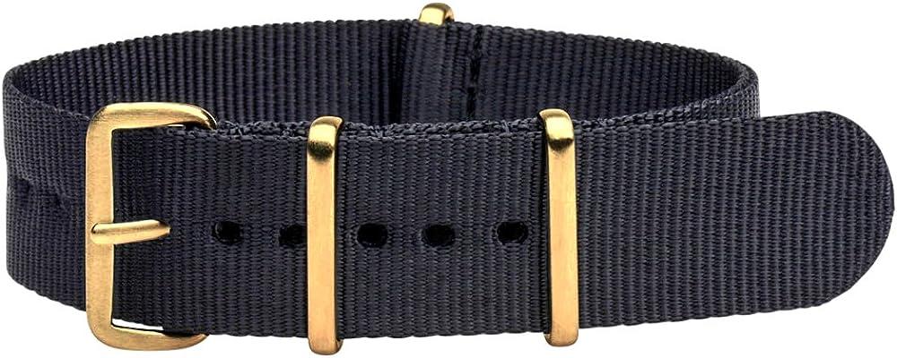 Clockwork Synergy Max 65% OFF Free shipping Premium Nylon Nato Watch bands G Straps Yellow