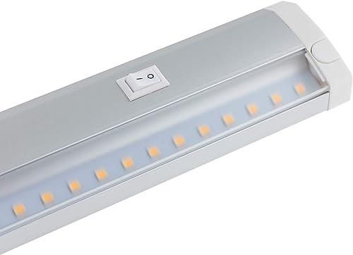 SEBSON® Éclairage sous meuble 60cm, Blanc chaud, 11W, 1000lm, Lampes de Placard