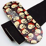 Peoples Republic P-Rep Skulls 34mm Wooden Fingerboard Deck