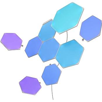 Nanoleaf Shapes 9 W, Multicolore (Rgbw), Starter Kit - 9 Pannelli