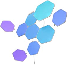 Nanoleaf SHAPES Hexagons Starter Kit - Smart WiFi LED Panel System w/ Music Visualizer, Instant Wall Decoration, Home or O...