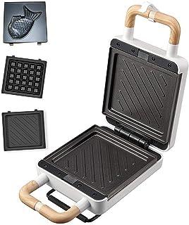Totasters sandwich Presse à Panini de Machine à gaufres pour gril électrique pour fabricant de sandwichs en acier inoxydab...