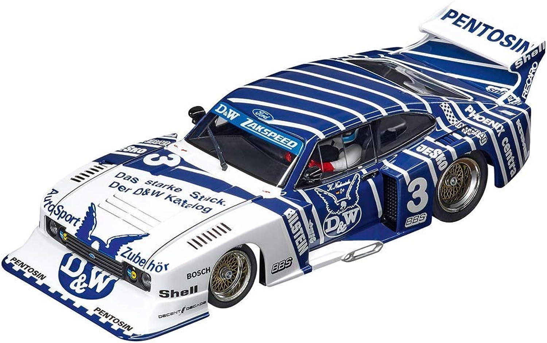 "Carrera 20030887 Ford Capri Turbo ""D&WZakspeed Team, No.3"", Mehrfarbig"