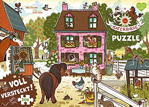 Die Haferhorde - Voll versteckt! (Puzzle)
