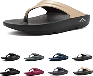 Fanture Men & Women's Flip Flops Arch Support Sandals Thong Foot Pain Relief Recovery Ultra Soft Slippers