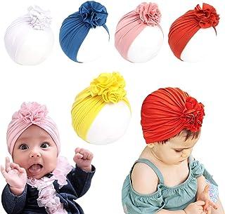 بسته بندی سر کودک دختر بچه پنبه ای و نرم کودک کلاه دار با کلاه بزرگ