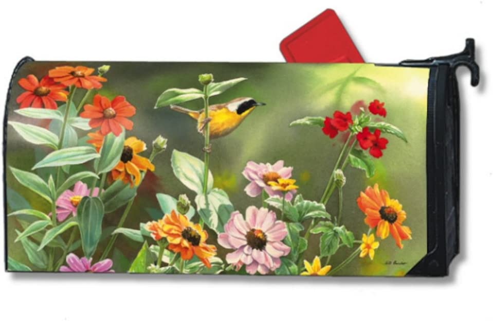 MailWraps Garden View Mailbox Cover #05961