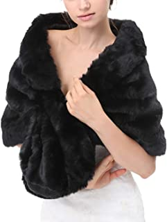 Best faux fur wrap shrug stole shawl Reviews