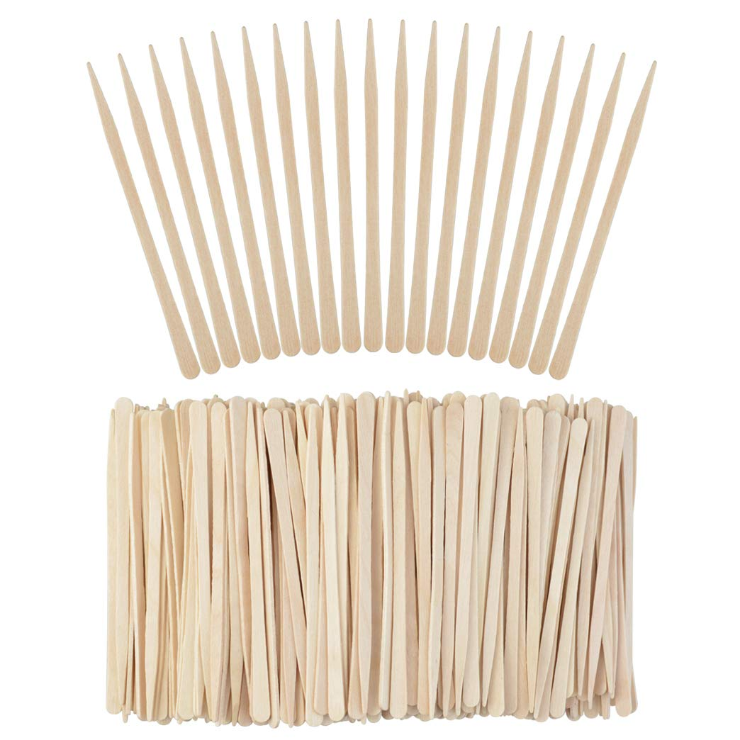 online shopping 1000 Pieces At the price Small Wax Sticks Applicator Waxing Spatulas Sti Wood