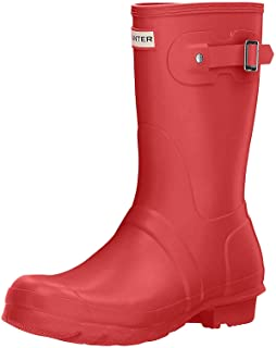 Hunter Original Short - Botas para mujeres, color rojo (military red), talla 35/36 EU (3 UK)