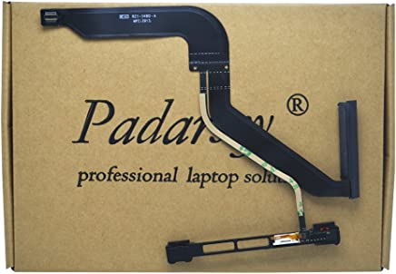"Padarsey 923-0104 HDD Hard Drive HD Cable w/IR/Sleep/HD Cable with Bracket for MacBook Pro Unibody 13"" A1278 2012 MD101 MD102 821-1480-A (IR/Sleep)(Please Check Your Part NO.is 821-1480-A)"