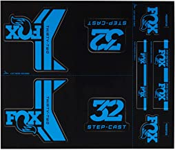 2016 Fox Factory-34 Fork Decal Set Dark Blue