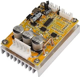 5V-36V 350W Wide Voltage 3-phase Sensorless BLDC Motor Controller Board Brushless ESC Motor Driver Module with Heatsink
