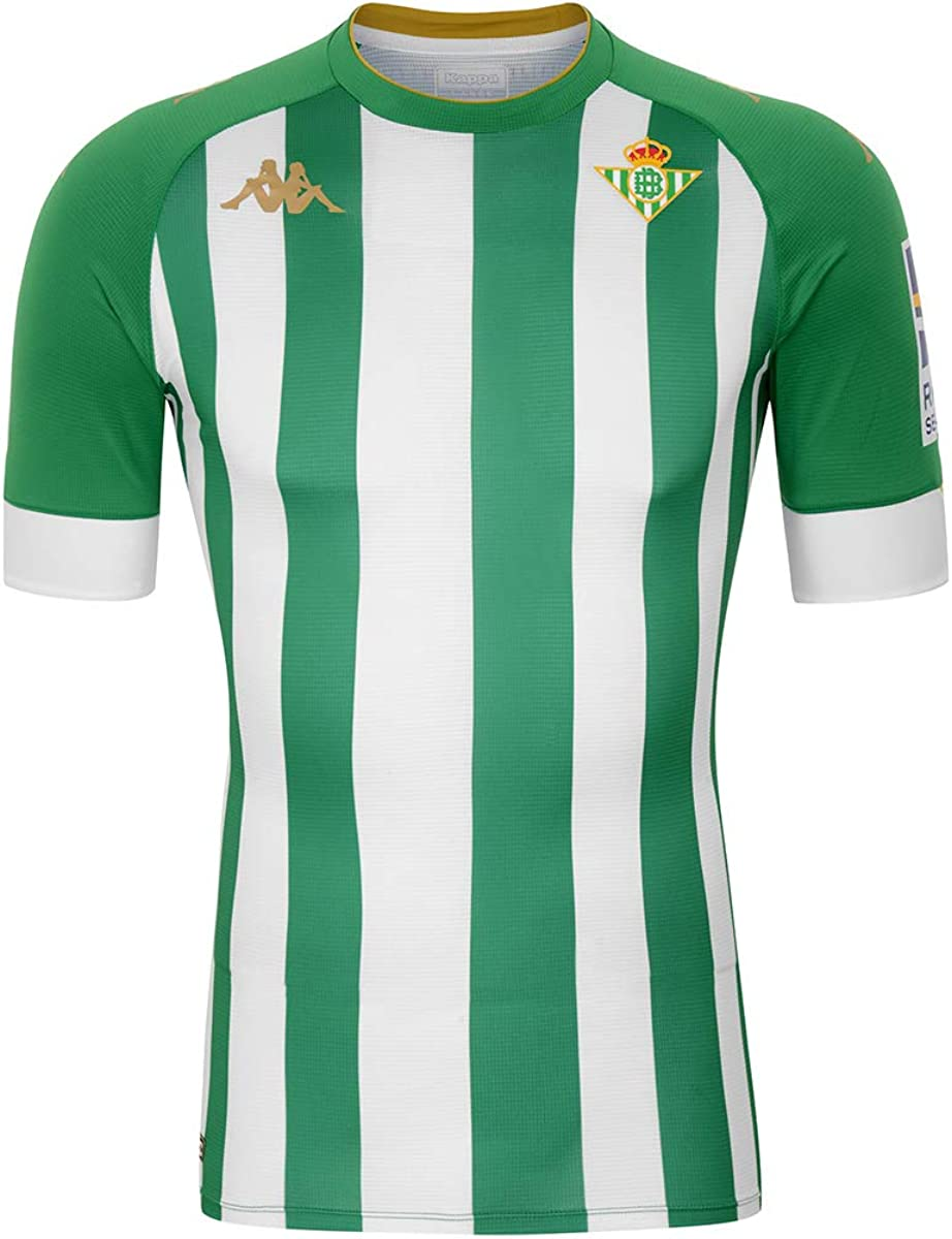 Kappa Primera Equipación Real Betis Camiseta Hombre
