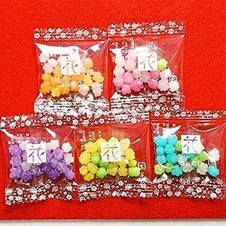 MARUTA Konpeito Japanese Sugar Candy a set of 50 bags