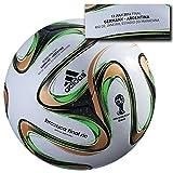 adidas Brazuca Final Ball Deutschland Argentinien Germany 2014 Fußball WM World Cup Finale Rio Official Offizieller Match Soccer Ball Weltmeisterschaft Weltmeister Brasilien Size Größe 5