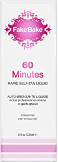 Fake Bake 60 Minutes Rapid Self-Tanning Liquid Spray 8 oz