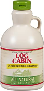Log Cabin Syrup, All Natural, 22 Ounce (Pack of 8)