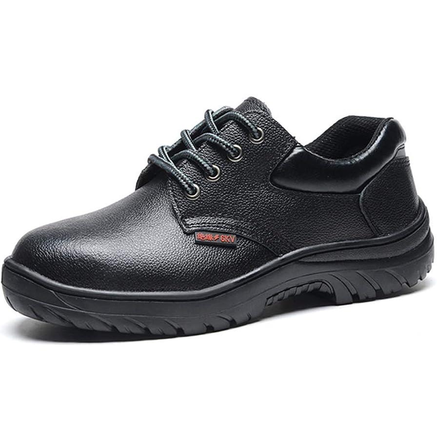 副エレベーター成人期[ディビジェ] 安全靴 作業靴 セーフティーシューズ メンズ レディース 鋼先芯 鋼製ミッドソール 耐滑 耐油 防水 通気 耐磨耗 黒