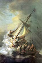 ArtParisienne Christ in The Storm Sea of Galilee Rembrandt 24x36-inch Wall Decal