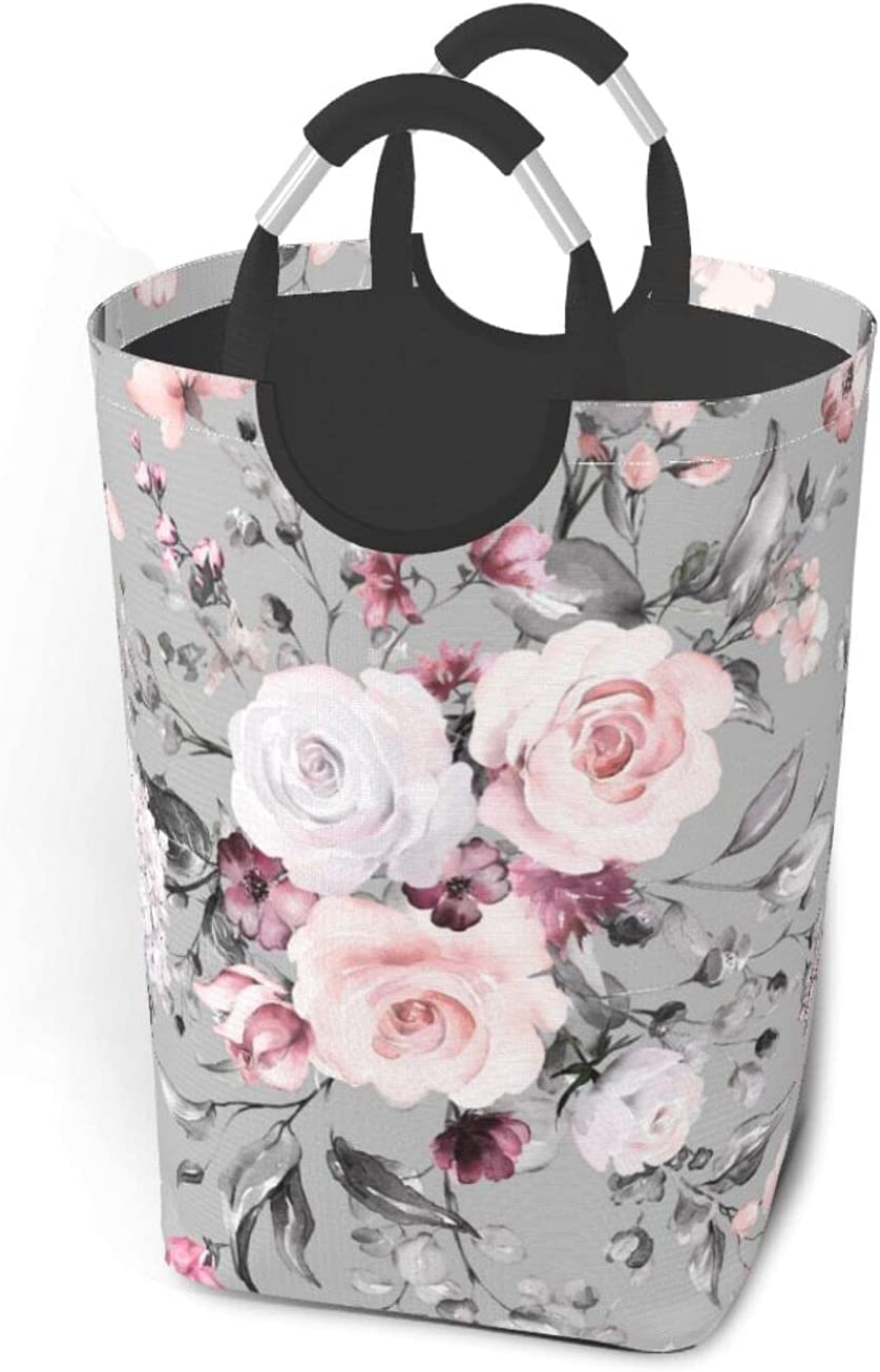 Plant Floral Flowers Large Limited time for free shipping Dirty Clot Portable Clothes Bag Al sold out.