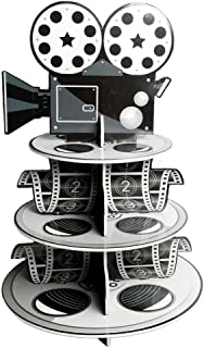 Fun Express Movie Reel Cupcake Holder Foam for Your Oscar Party Novelty, 12 x 17-1/4