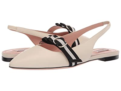 Bally Ali Flat (Bone) Women