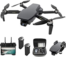 $179 » Foldable GPS FPV Drone with 4K Camera for Adults RC Quadcopter with GPS, Brushless Motor, Follow Me, Auto Return Home, 28 ...