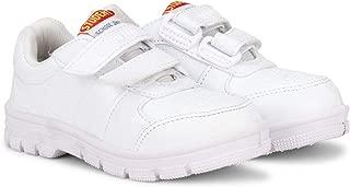 STUDENT Kid's Boys Girls Formal White Comfortable Soft Breathable Antiskid Gola Formal School Shoes