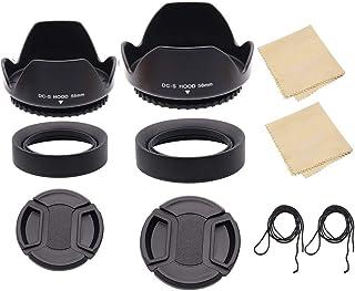 LingoFoto 55 ملم و 58 ملم عدسة لنيكون D3400 D3500 D5300 D5500 D5600 D7500 كاميرا دي اس ال ار مع AF-P DX نيكور 18-55 ملم f/...
