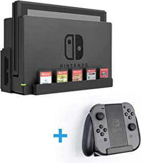 Monzlteck Wall Mount for Nintendo Switch+Controller Mount(Joy-Con Controller Mount) Game Card Holder