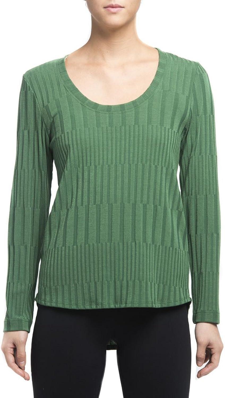 Nally & Millie Women's Ribbed Long Sleeve Top