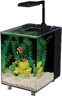 Penn Plax Prism Nano Aquarium Kit in Black