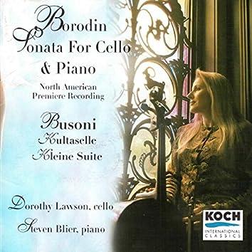 Borodin: Sonata for Cello and Piano