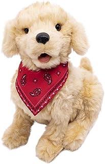 Joy For All - Golden Pup Companion inc Bandanna interactive plush pet