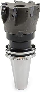 10 S Shars Tool 3 Inch Cutting Diameter 7 Flute 90 Degree Face Mill PLUS 10pcs APKT 1604 Carbide Insert 404-1869W+404-6541