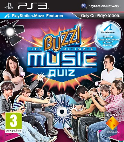 Buzz! The Ultimate Music Quiz [Edizione: Regno Unito]