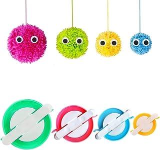 6 en 1 Make Your Own pom-pom girls Character Set Kit Cadeau de Noël pour enfants