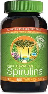 Pure Hawaiian Spirulina-500 mg Tablets 400 Count – Natural Premium Spirulina from..