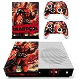 Vanknight Xbox One S Slim Console Remote Controllers Skin Set Vinyl Skin Decals Stciker Cover for Xbox One Slim (XB1 S) Console