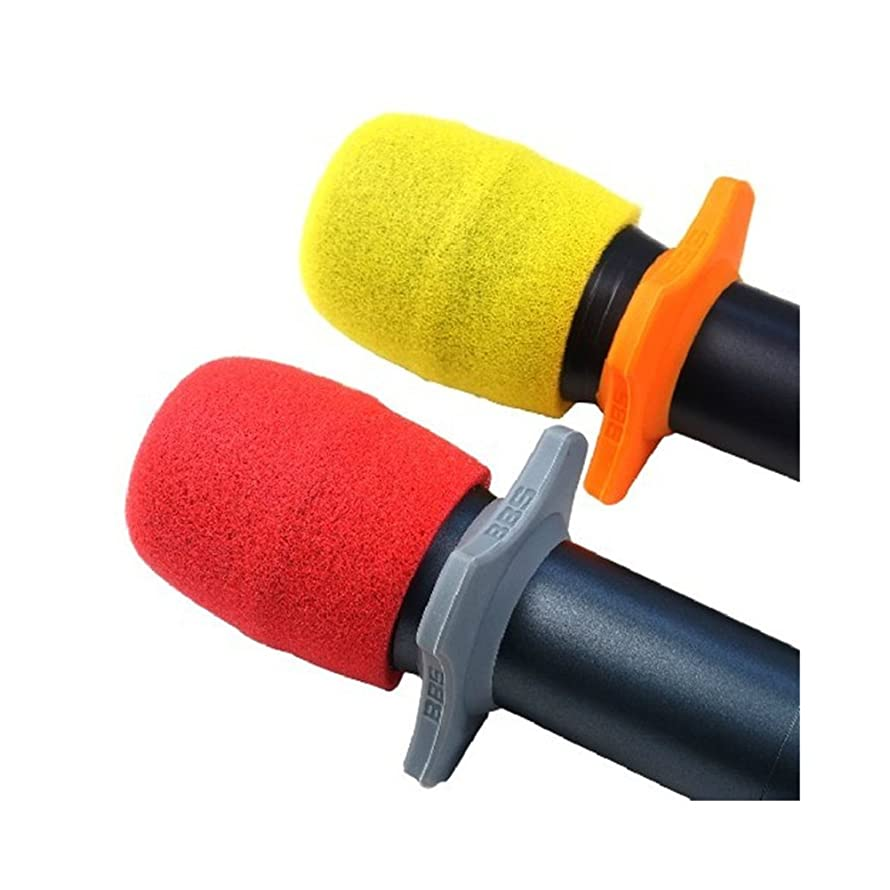 Handheld Stage Microphone Windscreen Foam Mic Cover One-Time Use For Home Ktv Karaoke 10 Pair (U)