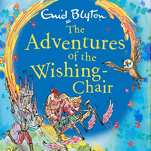 The Adventures of the Wishing-Chair cover art
